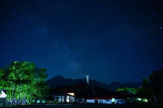 Hachimantai Heights: 施設外観(夜)