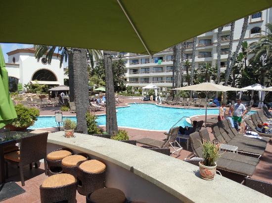 pool picture of the waterfront beach resort a hilton hotel rh tripadvisor com