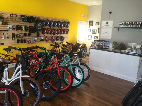 Spring Lake, NJ: Pedego Electric Bikes