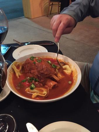 Tuscany Grill: Slow Roasted Pork Osso Bucco