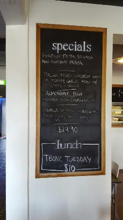 Tolga, Australia: Tuesday specials
