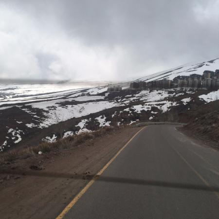 Farellones, Chile: Vista dos Andes