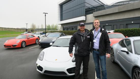me with my instructor picture of porsche experience center rh tripadvisor com
