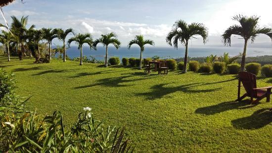 Emaho Sekawa Resort: View from restaurant