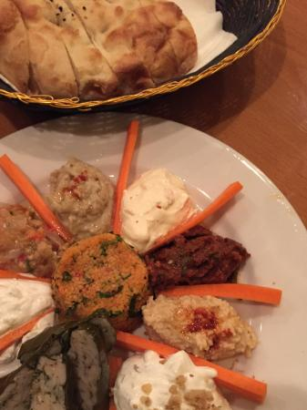 Anatolian Kitchen : Appetizer sampler