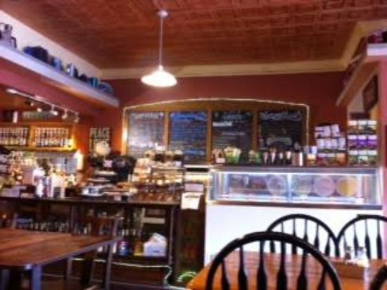 Jitterbug Coffeehouse: about as picturesque as a small town coffee place might be