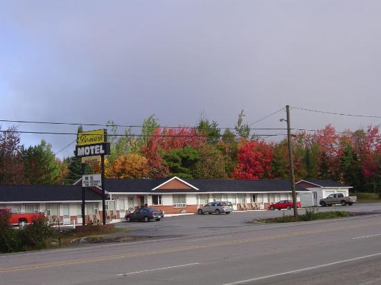 Bo-Mark Motel: Motel in the Fall