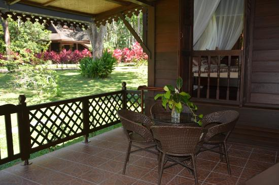 Sunset Valley Holiday Houses: Farmers House veranda