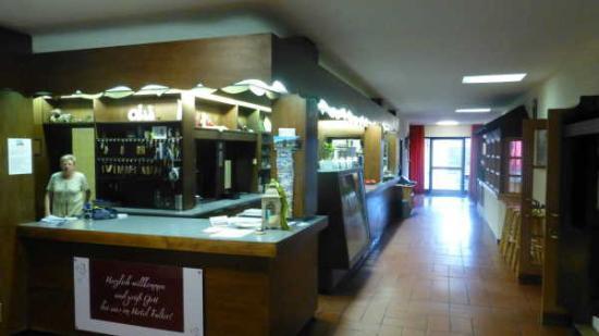 Hotel Falter: Hotel reception