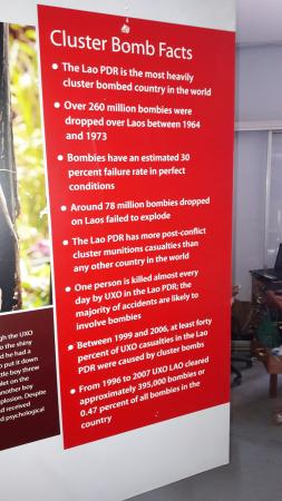 UXO Laos Visitor Center: 20160419_110443_large.jpg