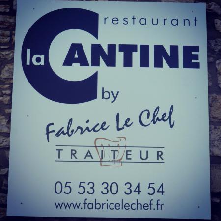 Daglan, Frankrike: La Cantine by Fabrice Le Chef