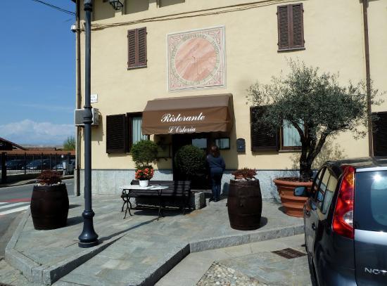 Balocco, Italia: Esterno ristorante