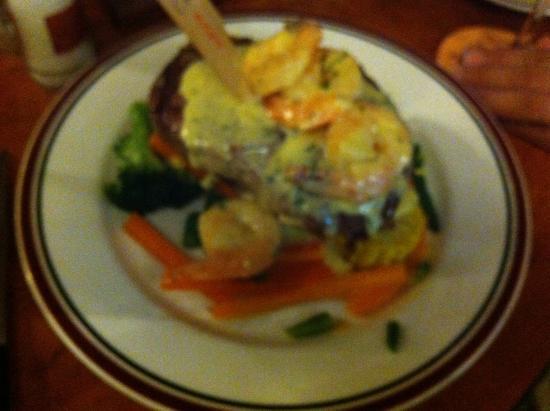 Cav's Steakhouse: Steak Caribbean
