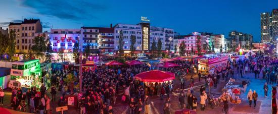 Hamburg, Tyskland: Speicherstadt and Elbphilharmonie