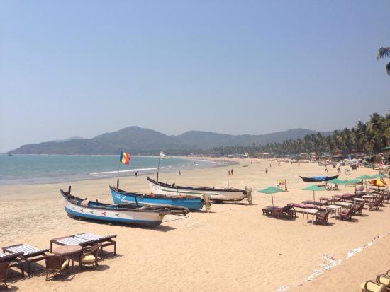 Chattai Beach Huts: Harri- visit to chattai huts/ palolem beach March 2016