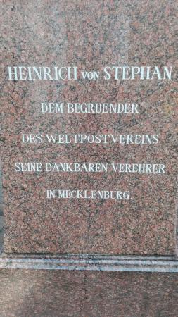 Heinrich von Stephan Denkmal