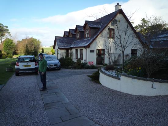 Newtonmore, UK: Day we left a little flurry of snow