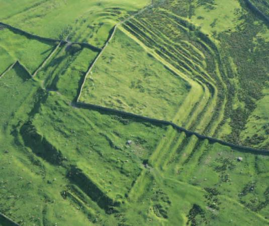 Alston, UK: Aerial view