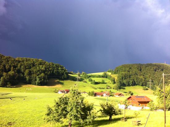 Niederstocken, Switzerland: Gewitterstimmung