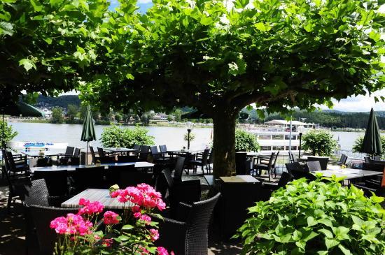 Hotel Rhein Residenz: Terrasse