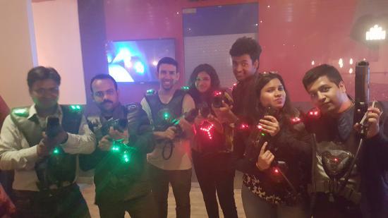Laser Wars Lounge