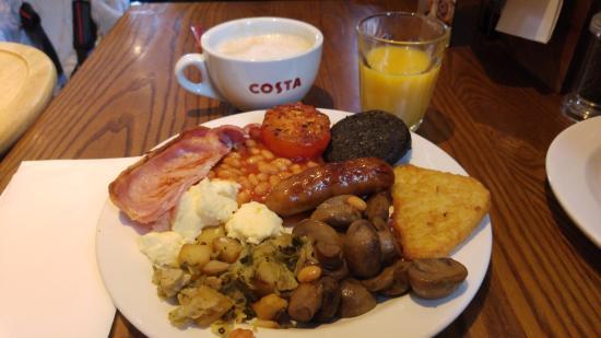 Premier Inn London City (Old Street) Hotel: The Full English Breakfast, DELICIOUS!