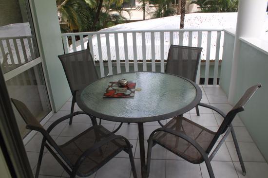 The Port Douglas Outrigger: balcony