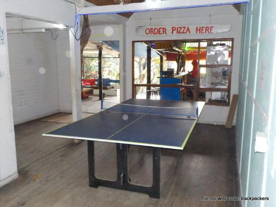 Table Tennis Karaoke Darts Picture Of Friends Cafe Guest House Coffee Bay Tripadvisor
