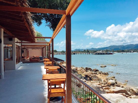 Tamarina Bistro & Bar (formerly Big Buddha Cafe): View