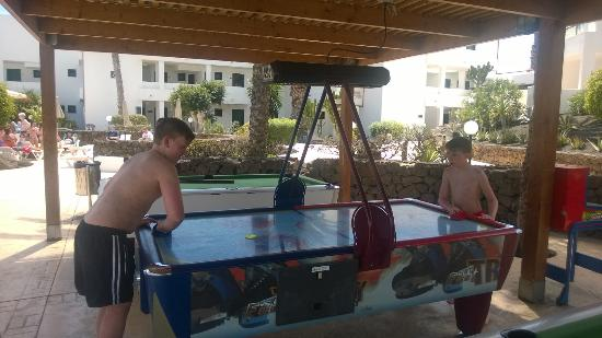 BlueBay Lanzarote: Two Pool Tables And A Table Tennis Table And Air Hockey.  A