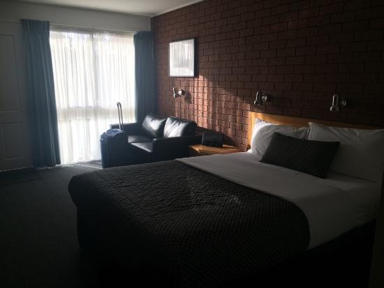 Hamilton, أستراليا: Deluxe Queen Room