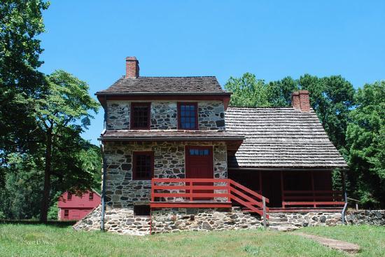 Chadds Ford, Pensilvania: Gideon Gilpin Farmhouse - HQ for Marquis de Lafayette