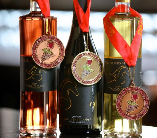 The Blind Horse Winery: Three big awards from 2016 Fingerlakes Wine Competition