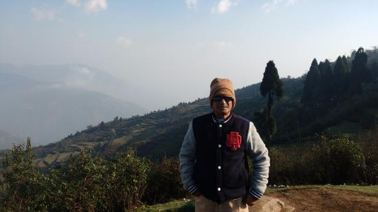 Mirik, Ấn Độ: The view of the Nepal Valley