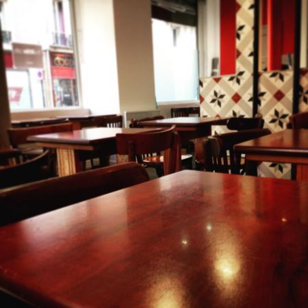 The Little Cafe: Interieur