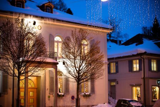 Herisau, Zwitserland: Wintermärchen