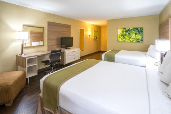 Wyndham Garden Washington DC North/BW Parkway: Newly remodeled in 2016- standard two queen bed