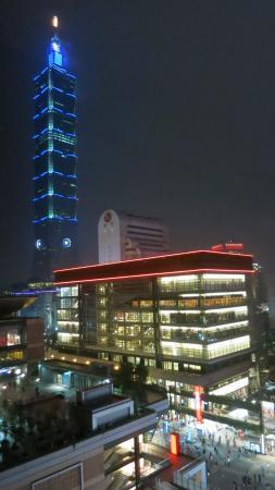 Le Meridien Taipei: 台北101がよく見えます!