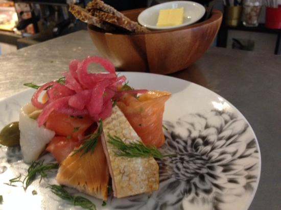 St Giles' Cafe: Nordic Fish Plate