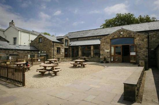 Garstang, UK: The inner courtyard