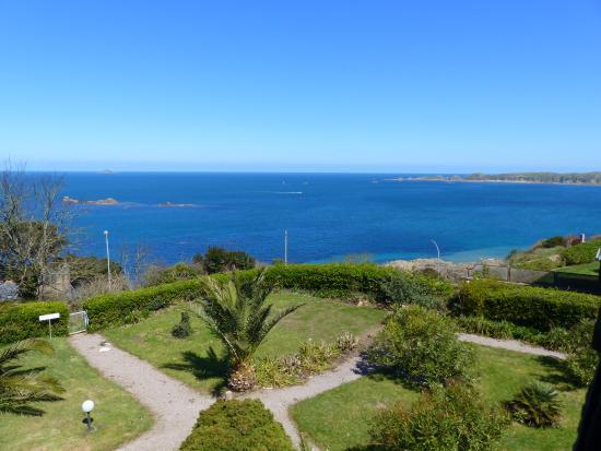 Jardin avec vue mer photo de villa les hydrangeas for Villas de jardin seychelles tripadvisor