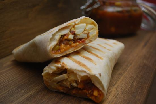 Sioux Lookout, Canadá: Breakfast Burrito