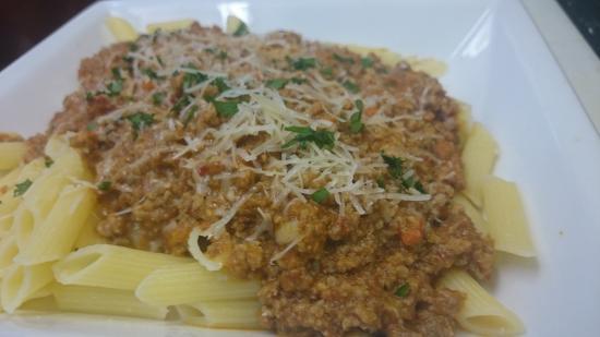 Buono Appetito Italian Restaurant: Bolognese over Rigatoni