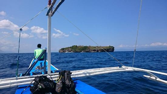 Asian-Belgian Dive Resort: on the boat