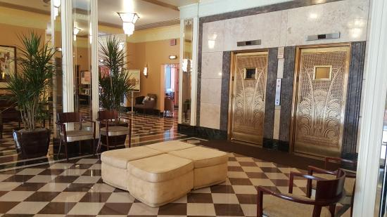 Ambador Hotel Lobby Elevators