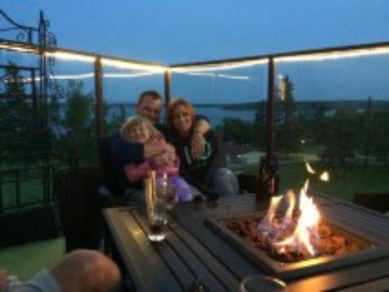 Carlyle, Canada: family time