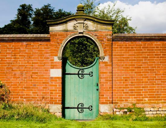Hampton-in-Arden, UK: Walled garden