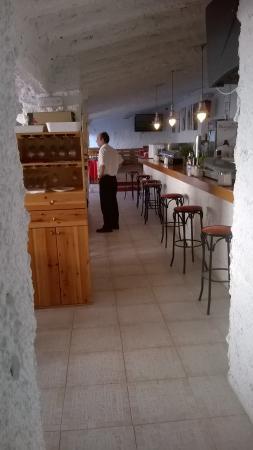 Sucina, Spania: binnenzicht van het restaurantje