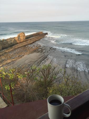 Popoyo, Nicaragua: View from dining area