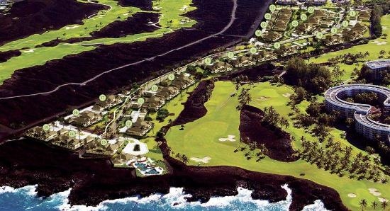 Property map  Picture of Halii Kai Resort at Waikoloa Beach
